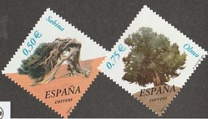 SPAIN #3133-4 MINT NEVER HINGED COMPLETE