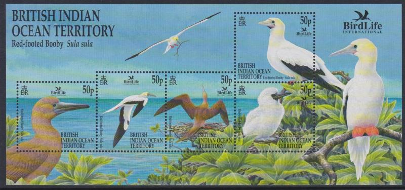 244 2002 Red Footed Booby SS MNH