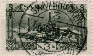 SARRE / SAAR / SAARGEBIET - 1931 SAARBRÜCKEN / 3 / * (St. Johann) m sur Mi.120