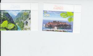 2012 Montenegro Europa Tourism (2) - New MNH