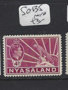 NYASALAND  (P0701BB)  KGVI   LEOPARD  4D  SG 135    MNH