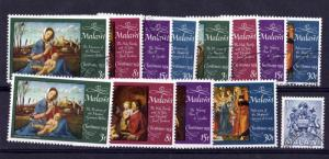 Malawi 1974 Christmas Set x 4 SG467/470 MNH/VFU X6617