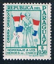 Paraguay Soldier 50 - pickastamp (PP9R504)