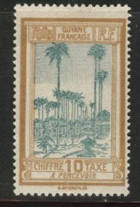French Guiana Scott J14 MH* Postage Due stamp