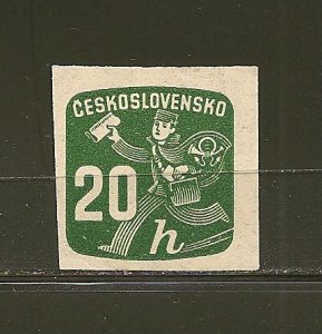 Czechoslovakia P30 Official Mint Hinged