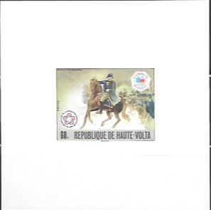 Upper Volta US Bi-Centennial proof card #403