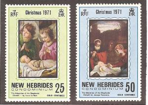 New Hebrides British 149-150 Mint VF NH