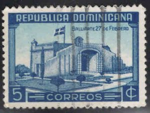 Dominican Republic Scott 376 Used stamp