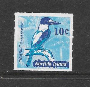 BIRDS - NORFOLK ISLAND #753  MNH