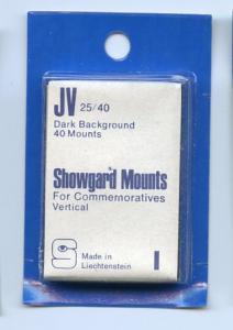 SHOWGARD DARK BACKGROUND MOUNTS JV 25/40 PACKAGE 40 Mounts