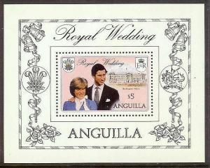 ANGUILLA Diana Wedding Souvenir Sheet Mint Never Hinged