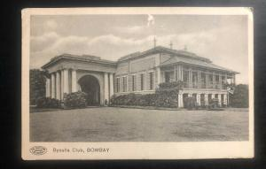 1915 Heliopolis Egypt RPPC Postcard cover To Adelaide Australia Byculla Club Bom