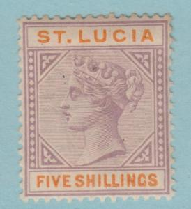 ST LUCIA 38  MINT HINGED OG * NO FAULTS VERY FINE
