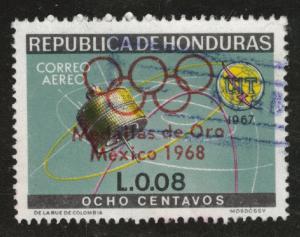Honduras  Scott C453 Used Olympic airmail