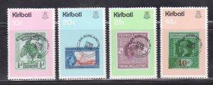 KIRIBATI - 1979 DEATH CENTENARY OF SIR ROWLAND HILL - 4V MNH