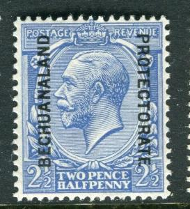BECHUANALAND; 1913 early GV issue fine Mint hinged Shade of 2.5d. value