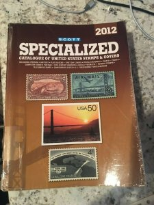 2012 Scott Specialized Catalogue of united states Stamps &covers