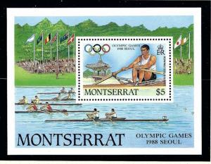 Montserrat 680 MNH 1988 Olympics S/S