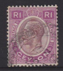 Ceylon Sc#254 Used