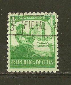 Cuba 356 Cigar Factory Used