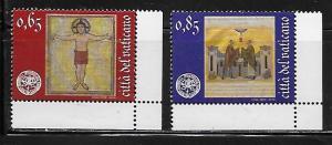 Vatican City 1449-50 2010 Europa set MNH #