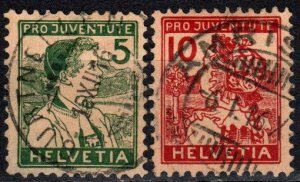 Switzerland #B2-3  F-VF Used CV $116.00 (X2413)