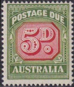 Australia 1959 SC J90A MNH