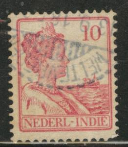 Netherlands Indies  Scott 117 used  from 1912-20 set