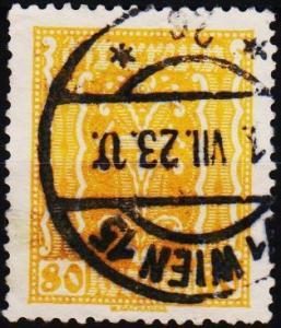 Austria. 1922 80k S.G.478 Fine Used