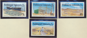 Falkland Islands Stamps Scott #425 To 428, Mint Never Hinged - Free U.S. Ship...