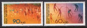 Germany Berlin 9NB180-9NB181 Sports MNH VF