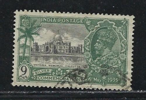 India 143 Used 1935 KGV Silver Jubilee
