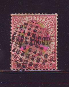 Malaya Selangor Sc 8 2c Victoria stamp sued
