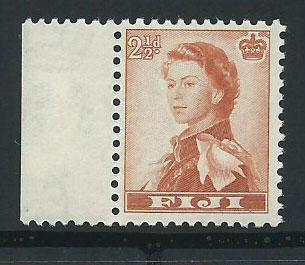 Fiji  QE II SG 302  MUH margin hinged