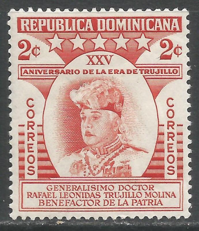 DOMINICAN REPUBLIC 462 MOG 621A
