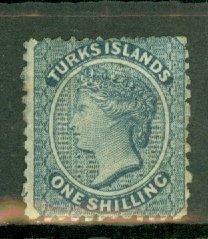 B: Turks Islands 3 unused no gum CV $105