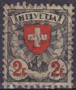 Switzerland #203a F-VF Used   CV $13.50  (Z4090)