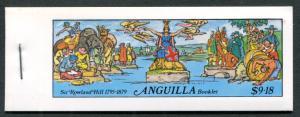 Anguilla 349-54 cplt bklt 1979 Rowland Hill CV$4.00.