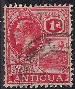 Antigua 1921 – 29 KGV 1d Red SG 63 ( M923 )