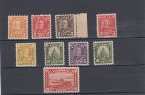 Large Lot ARCH Issue mostly VF MNH up to 20c Cat $275 Canada mint