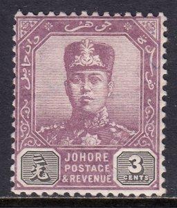Malaya (Johore) - Scott #78 - MH - SCV $10.00