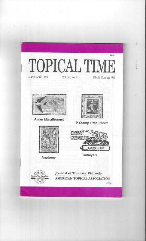 Topical Time Magazine MAR-APR 2001  Number 306, ATA Journal
