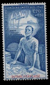 French Guiana 1942 Colonial Education,Scott # CB4,VF MNH** (K-8)