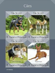 Z08 ST190305a Sao Tome and Principe 2019 Dogs MNH ** Postfrisch