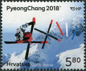 Croatia 2018. Winter Olympic Games - PyeongChang 2018 (MNH OG) Stamp
