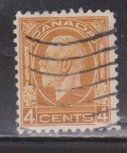 CANADA Scott # 198 Used - KGV