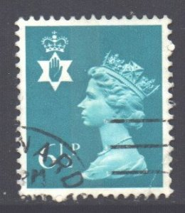 GB Regional N Ireland Scott 18 - SG NI21, 1971 Machin 6.1/2p used