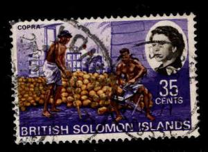British Solomon Islands Scott 191 Used Copra stamp