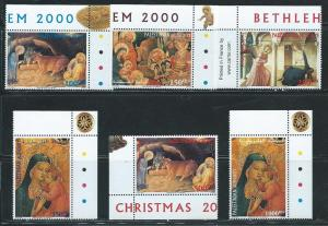 Palestine Authority 134-9 2000 Christmas set MNH
