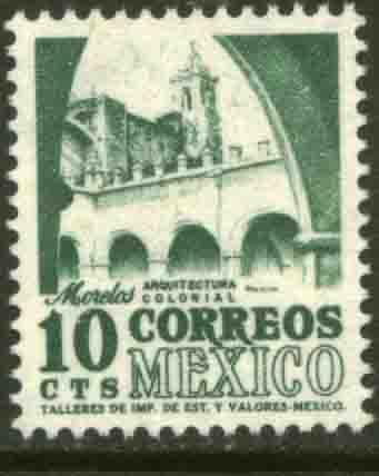 MEXICO 944, 10cents 1950 Definitive 3rd Printing wmk 350. MINT, NH. F-VF.